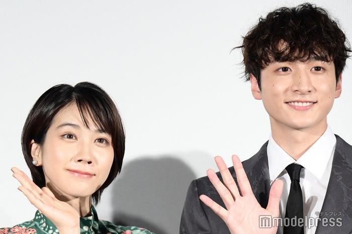 映画「DIVOC-12」完成披露試写会に出席した松本穂香、小関裕太 (C)モデルプレス