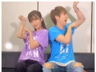 AAA與真司郎&宇野実彩子の仲良しTikTok動画にファン悶絶「永遠に見てられる」