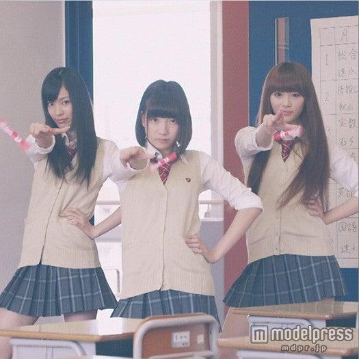 夢アドメンバー(左から)小林玲、京佳、山田朱莉の登場シーン/『BABY MAGIC』第1話より