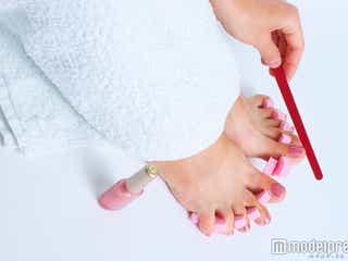 ネイルを塗る前に!完成度を高めるフットケアのやり方