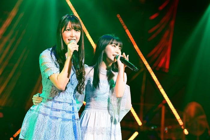 白間美瑠、田中美久「第8回 AKB48紅白対抗歌合戦」(C)AKS