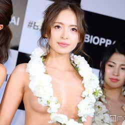 """モデルプレス - """"日本一美しいおっぱい""""準グランプリは人気モデル 美バストの秘訣とは"""