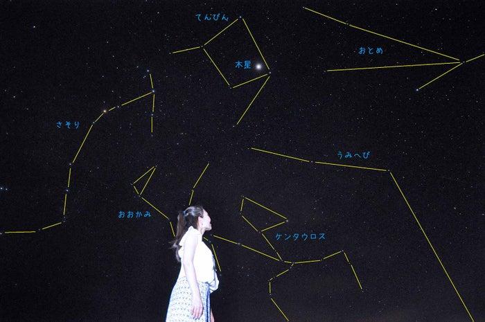 晴天時には肉眼でも捉えられるほど澄んだ星空が(C)Star Gazing Saipan