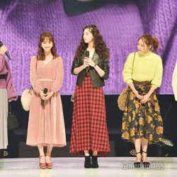(左から)トラウデン直美、堀田茜、中条あやみ、まい、石川恋(C)モデルプレス