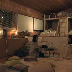 優衣、りさこ「TERRACE HOUSE OPENING NEW DOORS」42nd WEEK(C)フジテレビ/イースト・エンタテインメント