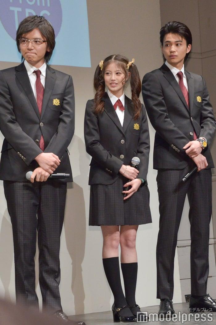 濱田龍臣、今田美桜、中田圭祐 (C)モデルプレス
