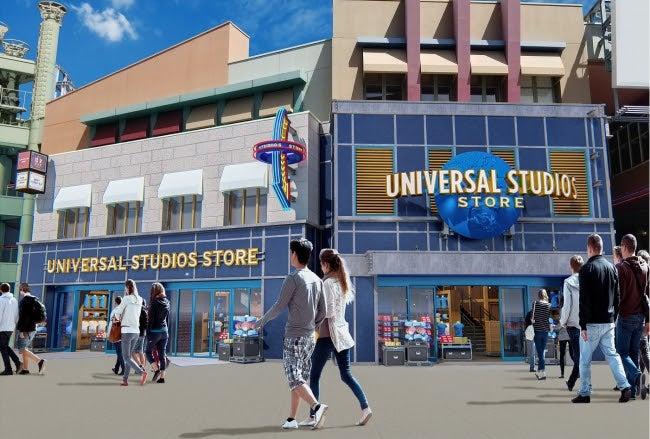 ユニバーサル・スタジオ・ストア完成イメージ/画像提供:ユニバーサル・スタジオャパン