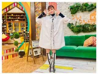 山本舞香「王様のブランチ」衣装に注目 唯一無二の斬新ファッション<ブランドまとめ>