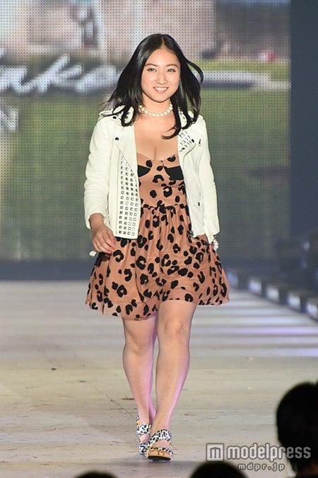 「KANSAI COLLECTION 2014 AUTUMN&WINTER」に出演した紗綾【モデルプレス】