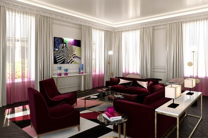 Salon of the Prestige Suite/画像提供:フォション