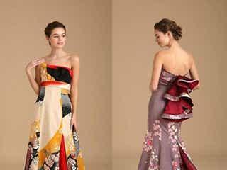 アンティーク振袖をドレスに。結婚式で和洋折衷を望むならこのドレス!