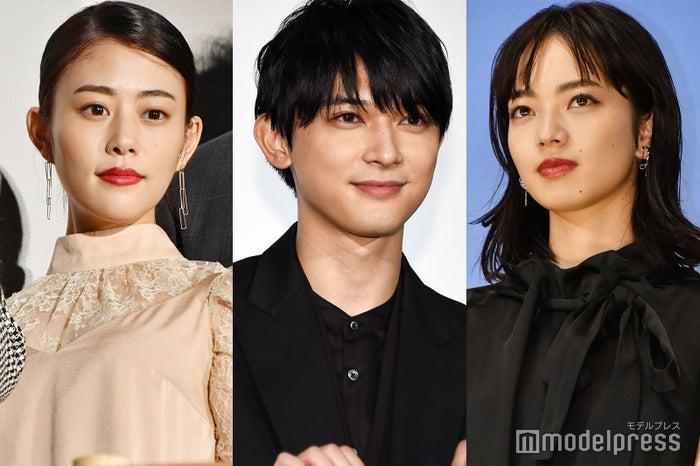 (左から)高畑充希、吉沢亮、小松菜奈 (C)モデルプレス