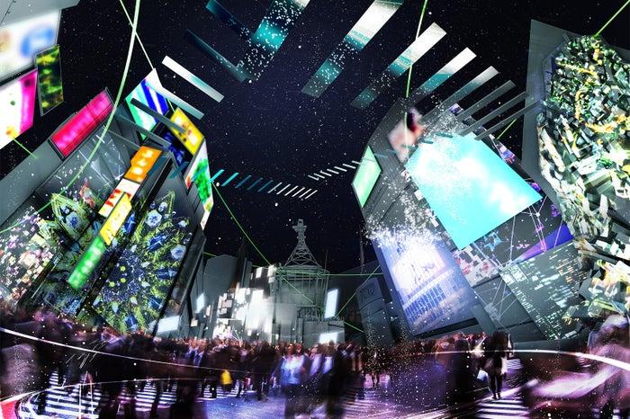渋谷エリア/画像提供:ネイキッド