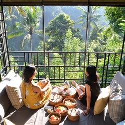 ジャングル特等席で朝食を「星のやバリ」で非日常感溢れる新プログラム