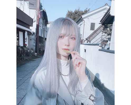 銀髪美少女・仲川琉菜、透明感抜群のストリートスナップを披露!「妖精とかエルフみたい」