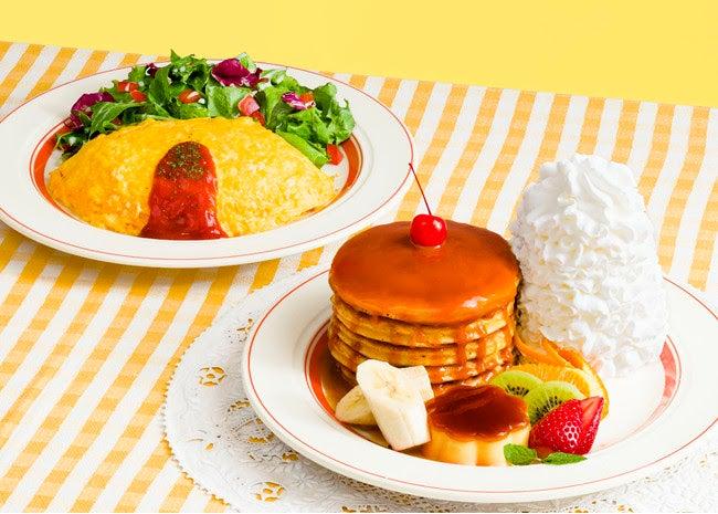 ハワイアンオムライス税込1,280円/画像提供:Eggs'n Things Japan