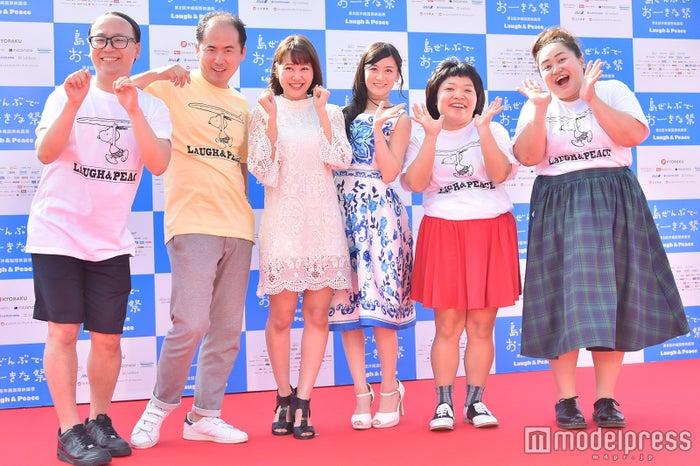 トレンディエンジェル、門脇佳奈子、上西恵、おかずクラブ(C)モデルプレス