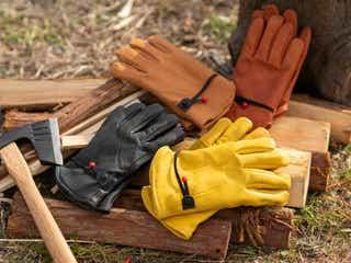 キャンプやDIYに最適!耐熱・防刃・撥水・防寒機能を兼ね備えた高機能ワークグローブ
