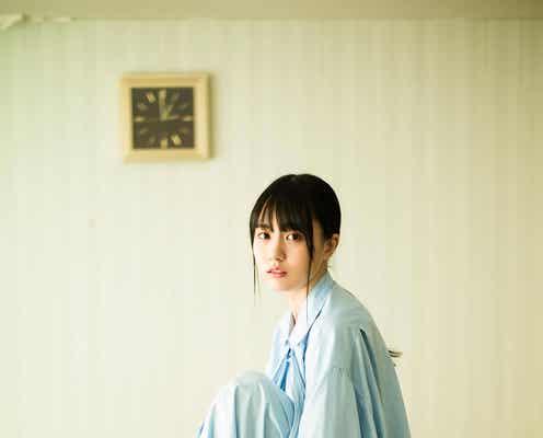 乃木坂46賀喜遥香、透明感あふれる美肌披露「blt graph.」初表紙