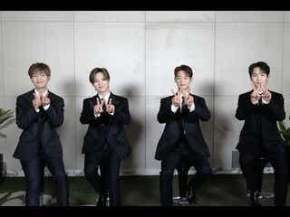SHINee、メンバー兵役終了後初「スッキリ」出演 新曲披露&近藤春菜伝授の一発芸に反響