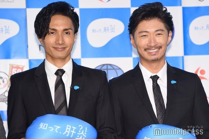 EXILE(左から)橘ケンチ、MAKIDAI(C)モデルプレス