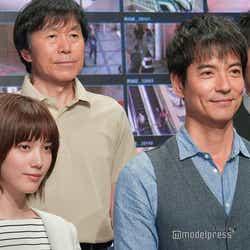 (左から)本田翼、平田満、沢村一樹、伊藤淳史 (C)モデルプレス
