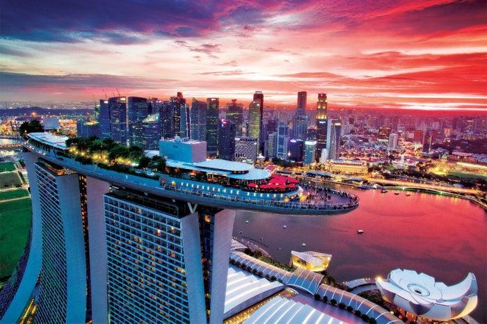 マリーナベイ・サンズ最上階に位置する「セラヴィ シンガポール」/画像提供:東急不動産