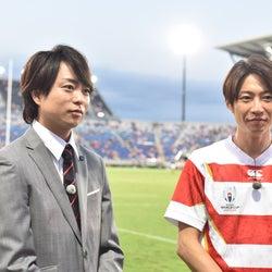 嵐・櫻井翔&相葉雅紀、日本テレビ・NHKコラボ番組で共演「不思議な感じ」