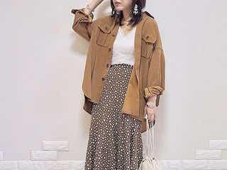 着るだけで旬のムードが作れる! 秋の羽織りには「シャツジャケット」がイチ押しです