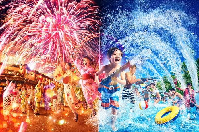 西武園ゆうえんち夏のイベントイメージ/画像提供:西武園ゆうえんち