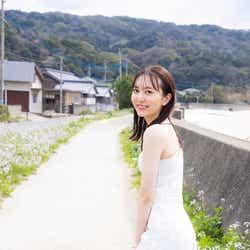 「HKT48  森保まどかラストフォトブック スコア」未公開カット(C)KADOKAWA (C)Mercury   PHOTO/TANAKA TOMOHISA