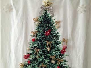 好奇心旺盛な1歳児がいる我が家の今年のクリスマスツリーをご紹介。