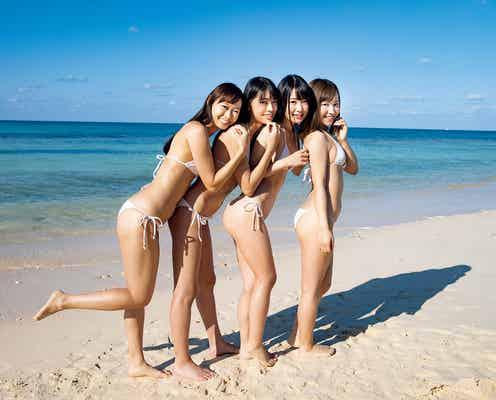 「ミスFLASH2020」グランプリ藤田いろは・崎川みずき・白宮奈々、水着で抜群プロポーションあらわ