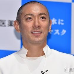 市川海老蔵、V6三宅健・子どもたちとの旅行を報告「健くんも」