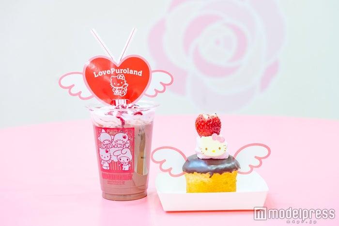 キャラクターフードコートで販売中のバレンタインデー向けのチョコスイーツ(C)モデルプレス