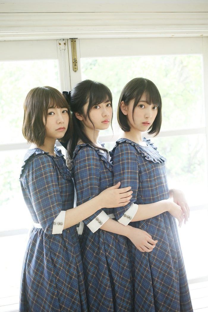 (左から)北野日奈子、寺田蘭世、堀未央奈(提供画像)