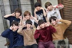 (下段左から)富田健太郎、神木隆之介、吉沢亮、金子大地(上段左から)溝口琢矢、正木郁、石原壮馬、太田将熙 (C)モデルプレス