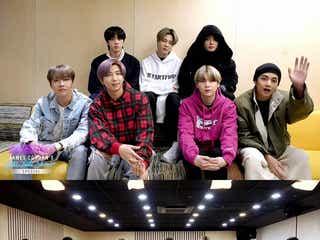 BTS、ビデオ電話で「Boy With Luv」熱唱 米・新型コロナ特番に出演