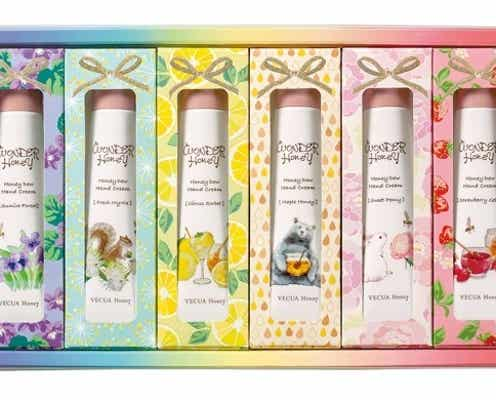 【VECUA Honey・9月1日発売】蜜蜂の森のハンドクリームギフトが数量限定で登場