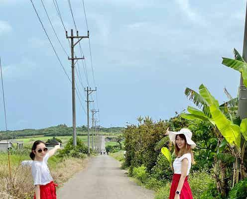 【小浜島】「ちゅらさん」のロケ地、シュガーロードは行くべし♡