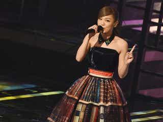 西野カナ「トリセツ」モチーフの豪華ドレスで高音響かせる<レコ大>
