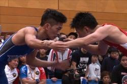 (左)太田博久/試合中の様子(C)TBS