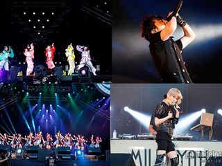 ももクロ、NMB48、加藤ミリヤ、May J.ら豪華集結パフォーマンス 西川貴教イナフェス開催