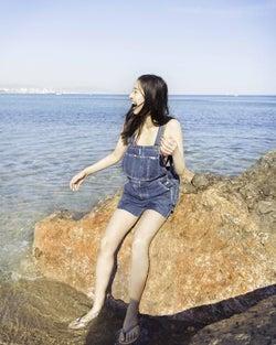 新木優子/写真集「ガールフレンド」より(提供写真)