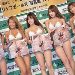 (左から)☆HOSHINO、橋本梨菜、犬童美乃梨、森咲智美、葉月あや(C)モデルプレス