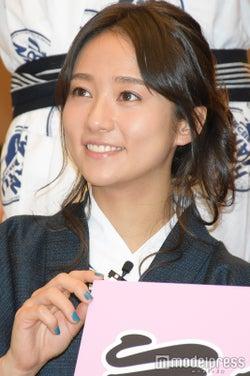 新婚の木村文乃、イベント登場 料理上手の本領発揮