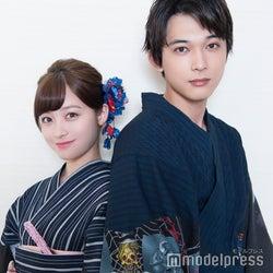 モデルプレスのインタビューに応じた(左から)橋本環奈、吉沢亮 (C)モデルプレス