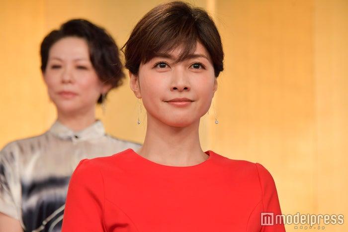 内田有紀/「西郷(せご)どん」出演者発表会見より