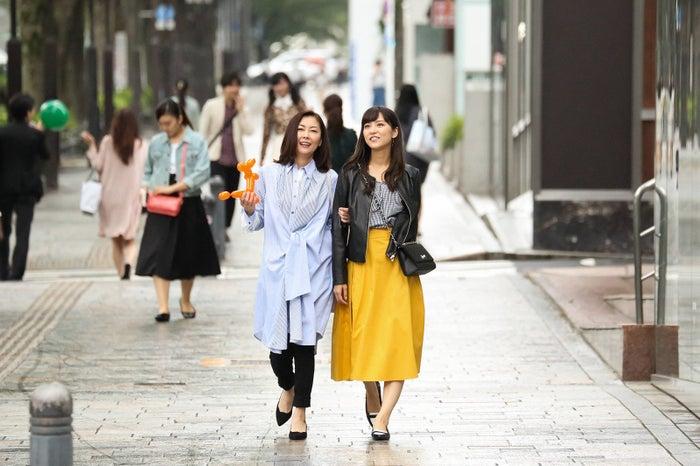 中山美穂、石川恋/『黄昏流星群~人生折り返し、恋をした~』より(C)フジテレビ