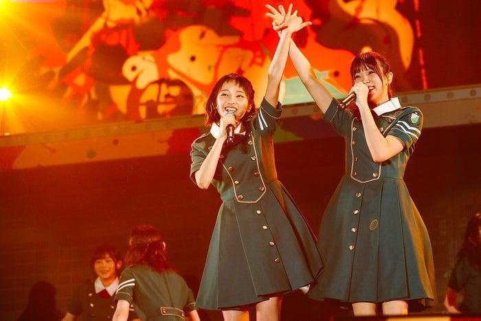 今泉佑唯、小林由依/欅坂46(画像提供:ソニーミュージック)